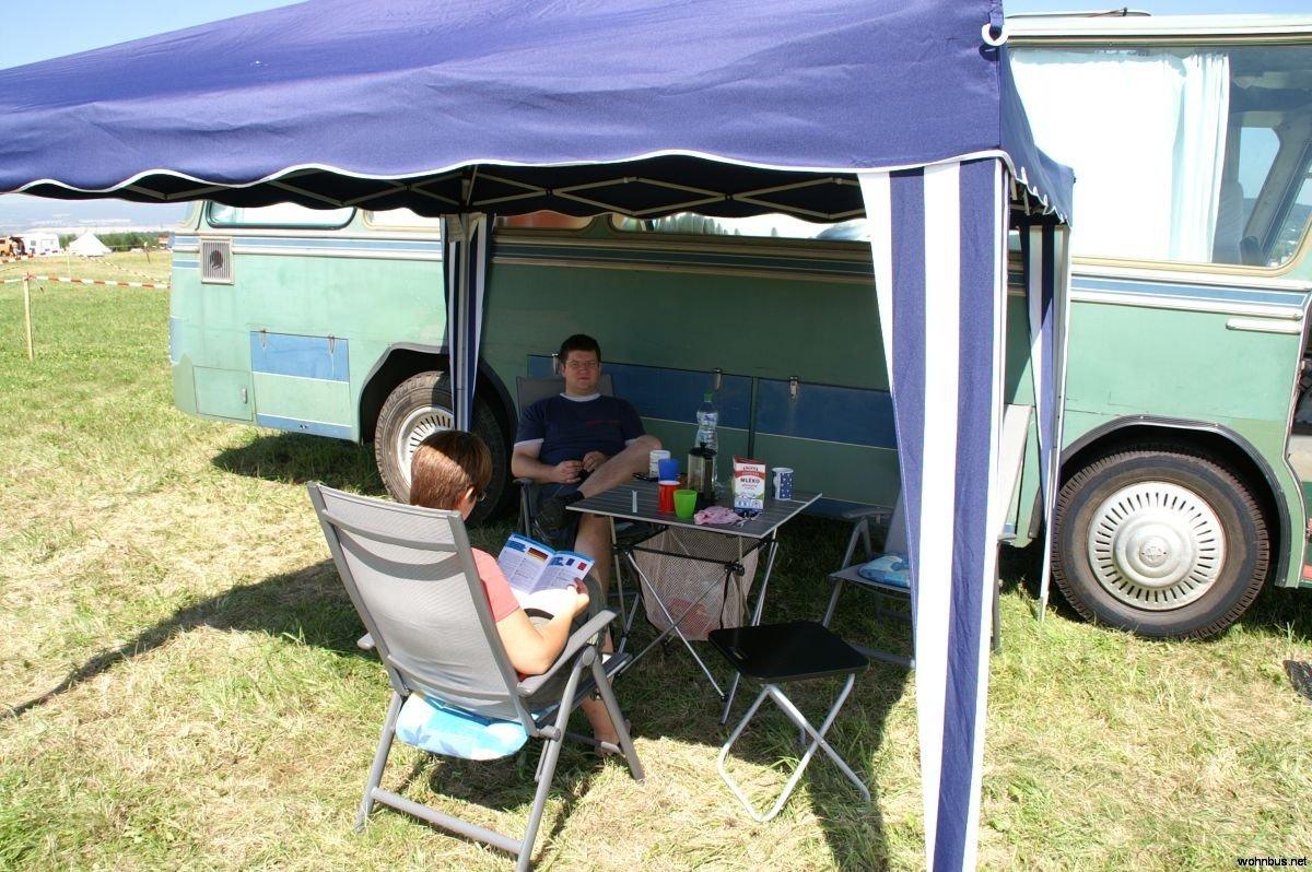 Urlaub 2009 – Welttreffen der 2CV – Freunde in Most