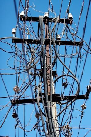 Elektrik – Baustelle…