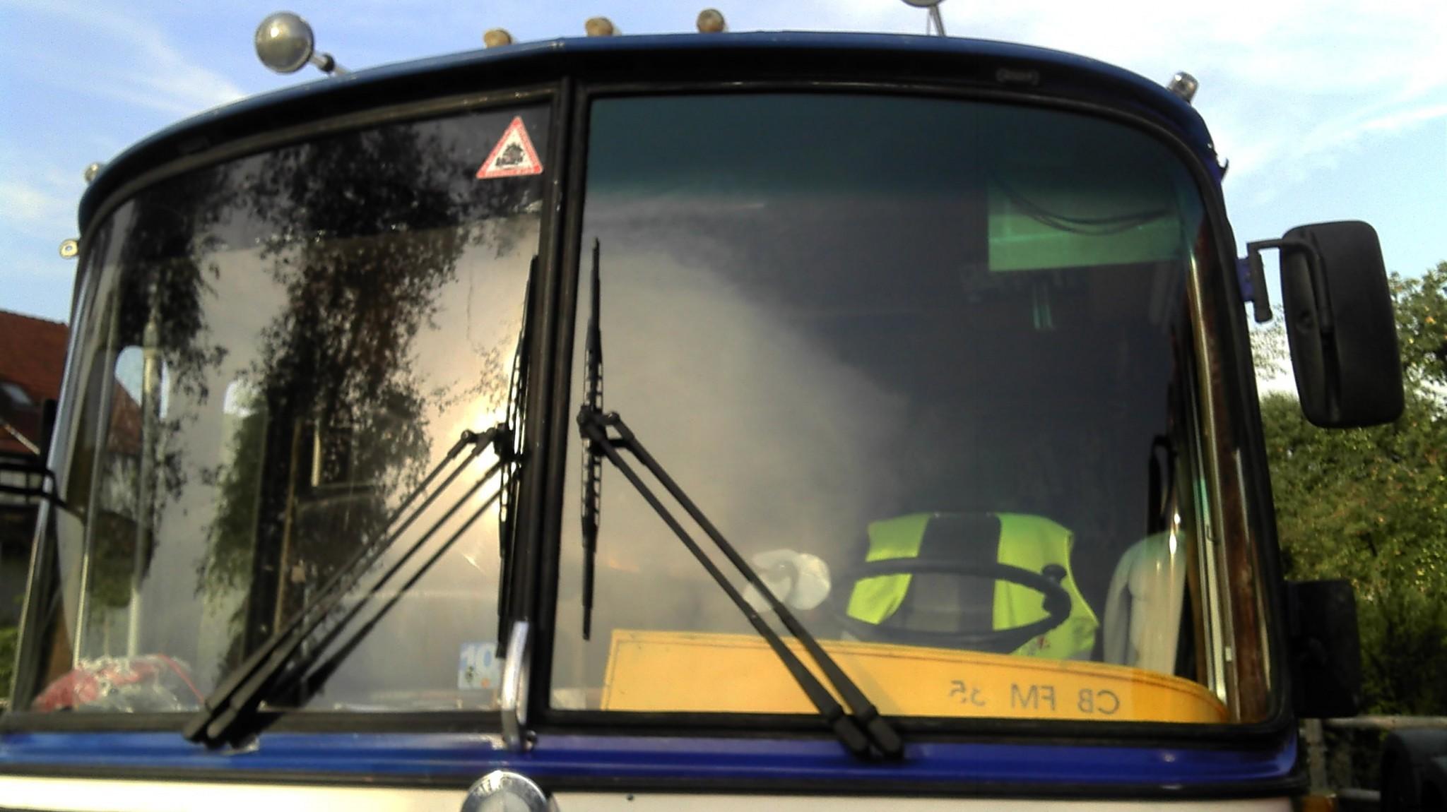 Die neue Fahrerseitenwindschutzscheibe Teil 3
