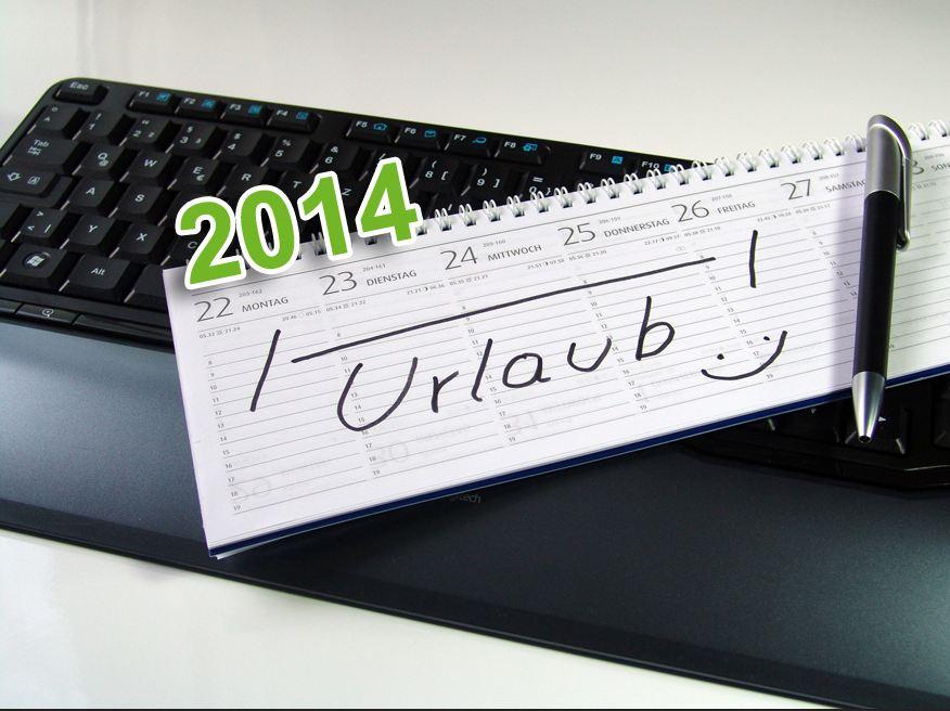 Urlaub 2014 – Wir fangen mal an zu planen