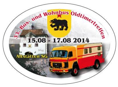 Schweizer Wohnbustreffen 14. – 17.08.2014: Vortreffen in Lindau