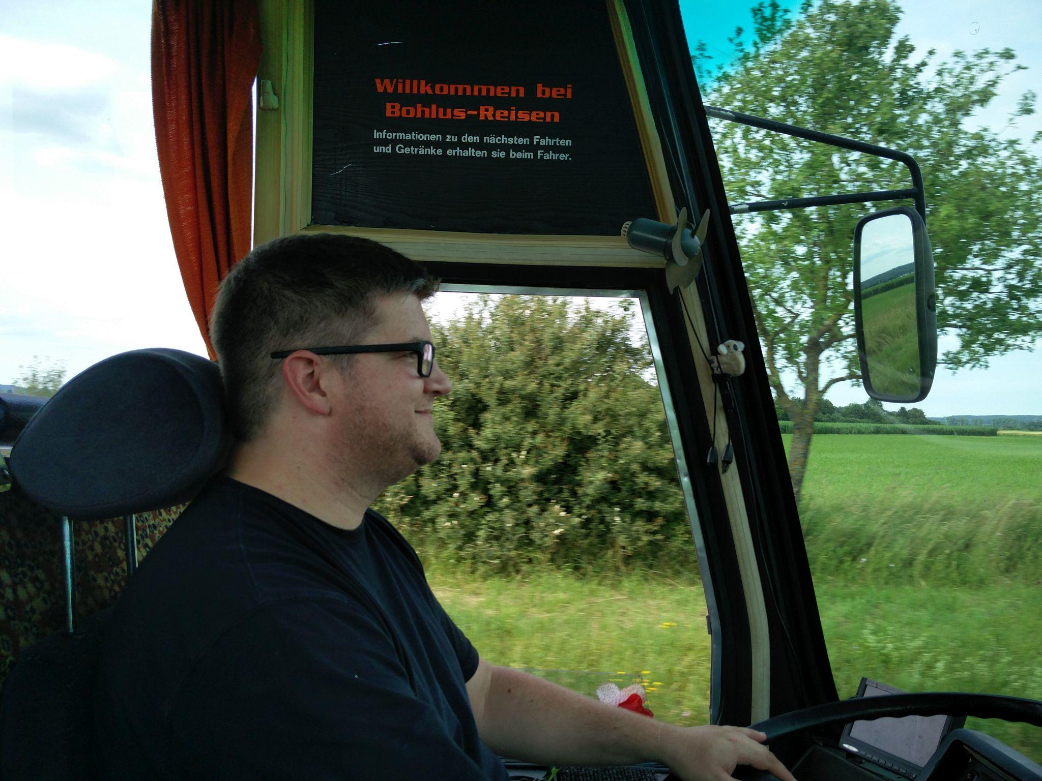 Sommer 2016: Tag 2 – Elektrobaustelle und Busfahren