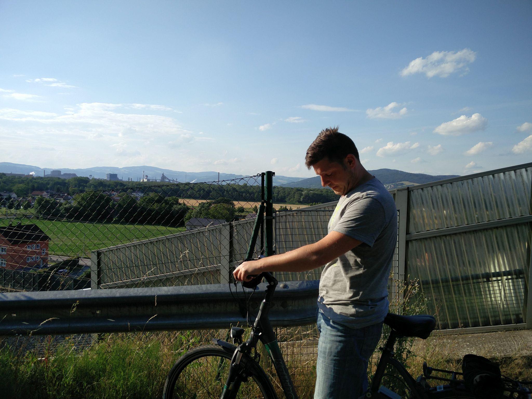 Sommer 2016: Tag 5 – (Wall)fahren und Radeln