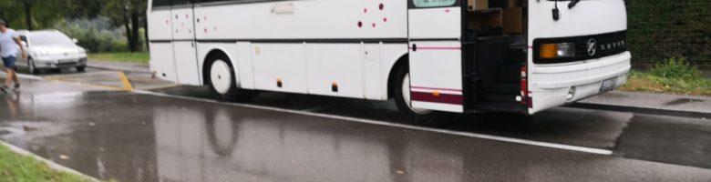 Schweizer Bus- & Wohnbustreffen und Kurzurlaub am Rhein – Tag 1