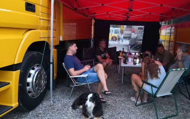 Schweizer Bus- & Wohnbustreffen und Kurzurlaub am Rhein – Tag 2