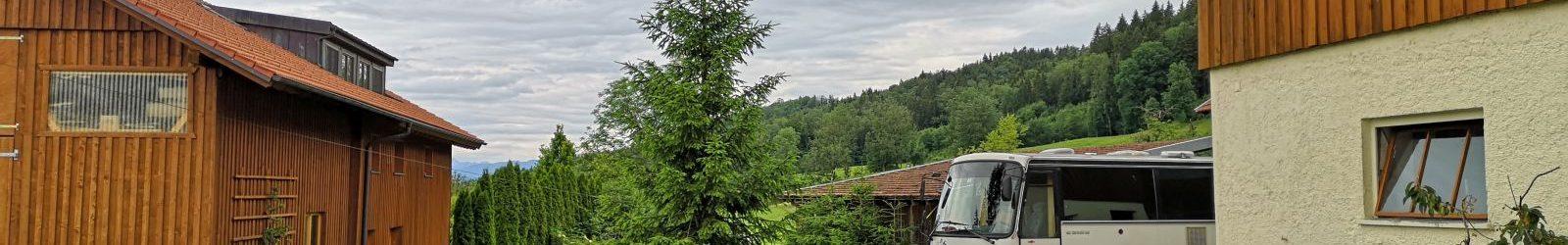 Sommerurlaub 2020 Tag 1: Urlaub auf dem Bauernhof
