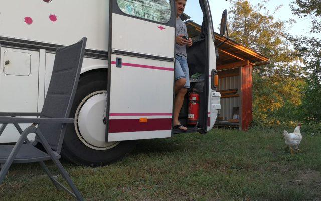 Herbst 2020, Tag 10: Dienstag, Hitze und Wasser, ähm Wein in der Pfalz